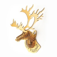Deer Head mini_ngold