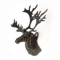 Deer Head mini_black