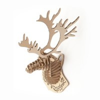 Deer Head mini_natural