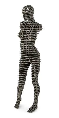 Female Body 001_black