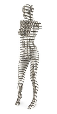 Female Body 001_white